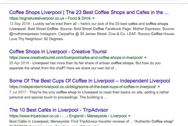 Google Results Scrape Wrekin Data