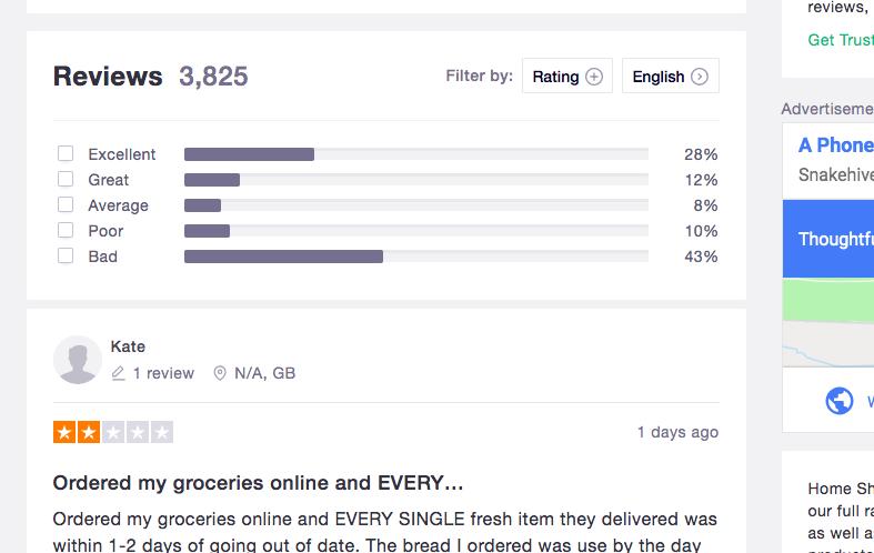 Trustpilot Review Data Scrape Wrekin Data
